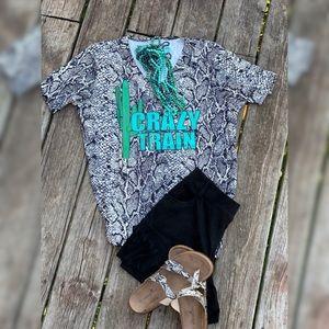 Snake Cactus Print Shirt